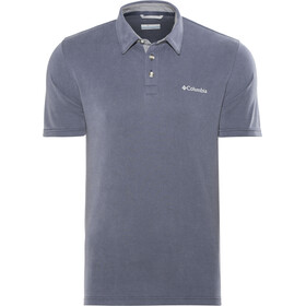 Columbia Nelson Point Polo Uomo, collegiate navy